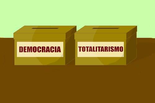 Democracia y Totalitarismo - (Definición, Diferencias y Cuadro Comparativo)