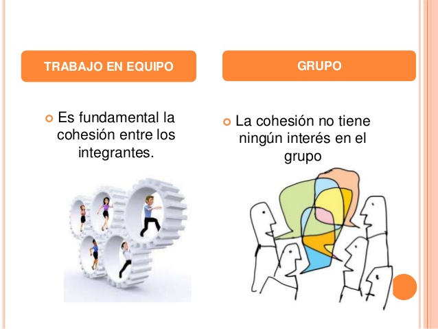 Diferencias entre Grupo y Equipo - (Definición, Ejemplos y Cuadro Comparativo)